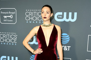 Emmy Rossum The 24th Annual Critics' Choice Awards - Arrivals