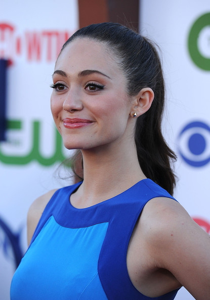 Emmy Rossum Actress Emmy Rossum arrives at the TCA Party for CBS, The CW and Showtime held at The Pagoda on August 3, 2011 in Beverly Hills, California.