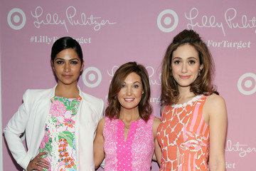 Emmy Rossum Lilly Pulitzer For Target Launch Event