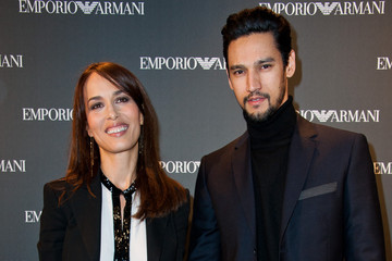 Stany Coppet Emporio Armani - Paris Store Opening