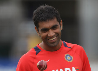 Munaf Patel England And Sri Lanka Nets Session