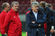 Roy Hodgson and David Bernstein Photos Photo