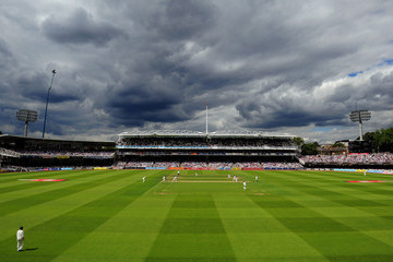 Lords England v India: 1st npower Test - Day Two