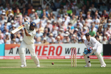 Youvraj Singh England v India: 2nd npower Test - Day Two