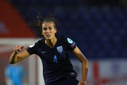 Jill Scott of England in action during the UEFA Women's Euro 2017 Group D match between England and Spain at Rat Verlegh Stadion on July 23, 2017 in Breda, Netherlands.