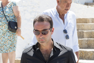 Enrique Ponce Angel Nieto Mass Funeral in Ibiza