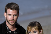 Miley Cyrus and Liam Hemsworth Photos Photo