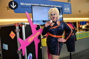RuPaul's Drag Race and Jet Blue Activation at Jet Blue JFK on June 10, 2019 in New York City.