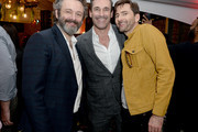 "Michael Sheen, Jon Hamm and David Tennant attend Entertainment Weekly + Amazon Prime Video's ""Saints & Sinners"" Party At SXSW on March 9, 2019 in Austin, Texas."