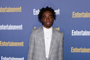 Caleb McLaughlin is seen as Entertainment Weekly Celebrates Screen Actors Guild Award Nominees at Chateau Marmont on January 18, 2020 in Los Angeles, California.