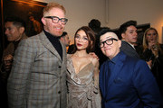 (L-R) Jesse Tyler Ferguson, Sarah Hyland and Lea DeLaria attend Entertainment Weekly's Screen Actors Guild Award Nominees Celebration sponsored by Maybelline New York at Chateau Marmont on January 20, 2018 in Los Angeles, California.