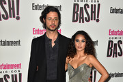 Hale Appleman (L) and Summer Bishil attend Entertainment Weekly's Comic-Con Bash held at FLOAT, Hard Rock Hotel San Diego on July 21, 2018 in San Diego, California sponsored by HBO