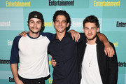 (L-R) Actors Dylan O'Brien, Tyler Posey and Cody Christian attend Entertainment Weekly's Comic-Con 2015 Party sponsored by HBO, Honda, Bud Light Lime and Bud Light Ritas at FLOAT at The Hard Rock Hotel on July 11, 2015 in San Diego, California.