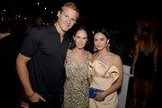 (L-R) Alexander Ludwig, Kristy Dawn Dinsmore and Camila Mendes attend Entertainment Weekly's Comic-Con Bash held at FLOAT, Hard Rock Hotel San Diego on July 20, 2019 in San Diego, California sponsored by HBO.