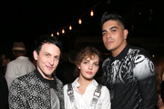 (L-R) Robin Lord Taylor, Camren Bicondova and guest at Entertainment Weekly's annual Comic-Con party in celebration of Comic-Con 2017  at Float at Hard Rock Hotel San Diego on July 22, 2017 in San Diego, California.