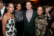 (L-R) Selenis Leyva, Kelly McCreary, Matt McGorry, and Amirah Vann attend the 2019 Pre-Emmy Party hosted by Entertainment Weekly and L'Oreal Paris at Sunset Tower Hotel in Los Angeles on Friday, September 20, 2019.