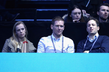 Eoin Morgan Day Six - Barclays ATP World Tour Finals