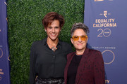 (L-R) Alexandra Billings and Jill Soloway attend Equality California's Special 20th Anniversary Los Angeles Equality Awards at the JW Marriott Los Angeles at L.A. LIVE on September 28, 2019 in Los Angeles, California.