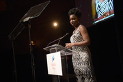 """Actress Adepero Oduye speaks onstage as Equality Now celebrates 25th Anniversary at """"Make Equality Reality"""" Gala at Gotham Hall on October 30, 2017 in New York City."""