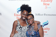 """Adepero Oduye (L) and Karen Asare attend as Equality Now celebrates 25th Anniversary at """"Make Equality Reality"""" Gala at Gotham Hall on October 30, 2017 in New York City."""