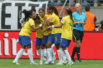 Christiane Equatorial Guinea v Brazil: Group D - FIFA Women's World Cup 2011