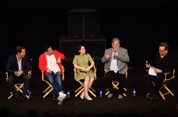 Adult Animation Q&A And Reception [event,performance,talent show,heater,performing arts,stage,drama,musical theatre,team,night,nat faxon,eric andre,matt groening,andy richter,abbi jacobson,adult animation q a,q a,california,hollywood,reception]
