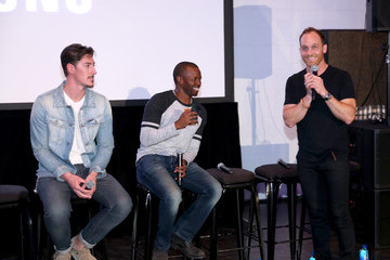 Eric Balfour Ethan Embry The Art of Elysium and Samsung Galaxy's Throwback Screening: 'Can't Hardly Wait' at Samsung Studio LA