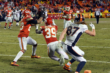 Eric Berry Denver Broncos v Kansas City Chiefs