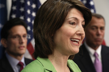 Eric Cantor Cathy McMorris Rodgers John Boehner Discusses the Budget Plan