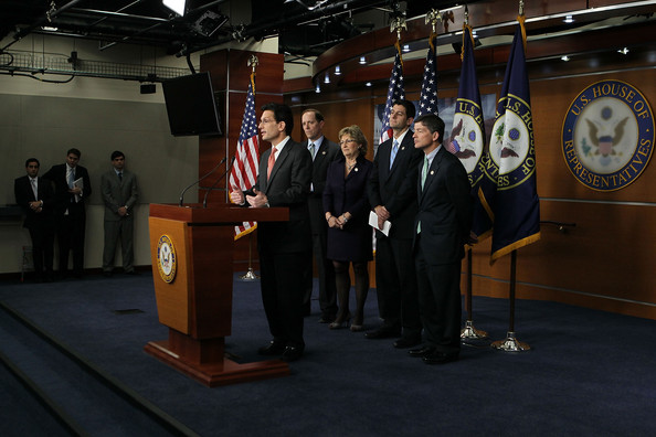 House Representatives Cantor And Ryan Discuss The Budget And Job Creation []
