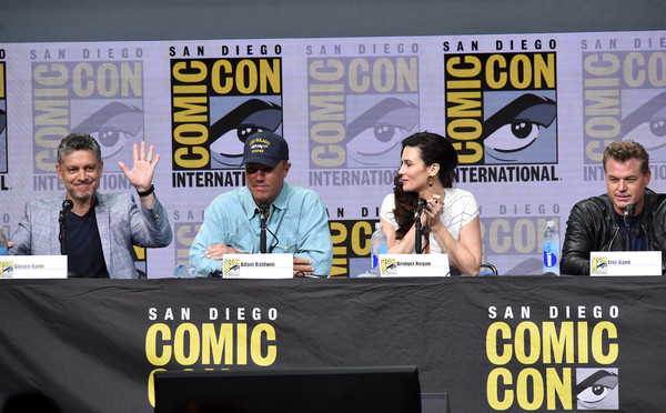 Comic-Con International 2017 - TNT's 'The Last Ship' With Eric Dane: Panel and Exclusive Sneak Peek for Season 4 [the last ship,season,eric dane: panel and exclusive sneak peek,comics,fiction,publication,event,book,news,media,news conference,convention,world,steven kane,eric dane,actors,writer,san diego convention center,tnt,comic-con international 2017 - tnt]