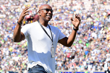 Eric Dickerson Seattle Seahawks v Los Angeles Rams