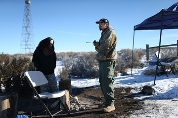 Eric Lee Anti-Government Protestors Occupy National Wildlife Refuge in Oregon