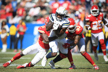 Eric Murray Kansas City Chiefs vs. Los Angeles Chargers