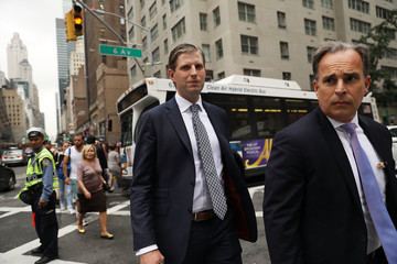 Eric Trump President Trump to Return to Trump Tower in New York City for First Time Since Taking Office