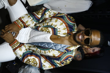 Eric West Global Fashion Collective I - Front Row & Backstage - September 2021 - New York Fashion Week: The Shows