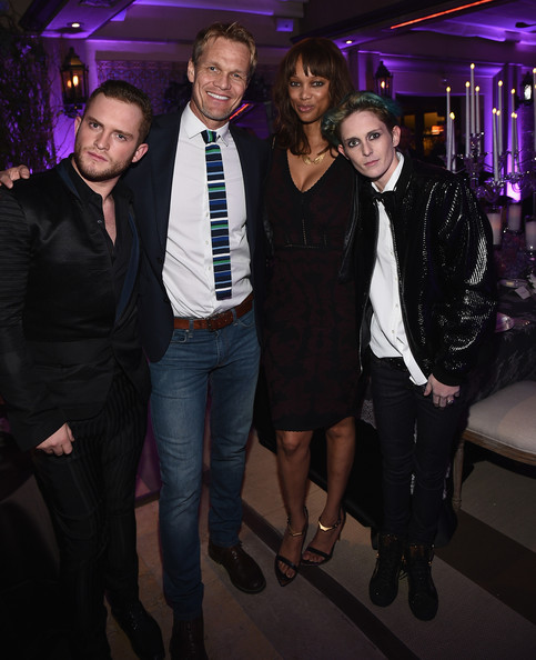 Tyra Banks On Glee: August Getty Atelier Dinner At