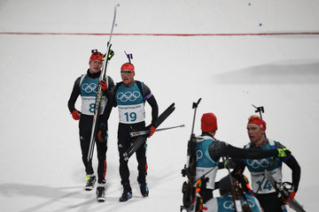 Erik Lesser Biathlon - Winter Olympics Day 9