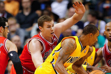 Erik Murphy Chicago Bulls v Indiana Pacers