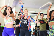 Erika Jayne Crashes Zumba Class With Surprise Appearance To Celebrate 'Zumba Breaks' Movement