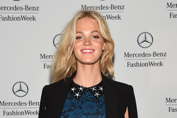 Erin Heatherton Mercedes-Benz Fashion Week Spring 2015 - Official Coverage - People And Atmosphere Day 6