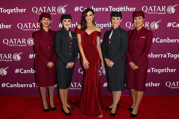 Erin Holland Qatar Airways Canberra Launch Gala Dinner