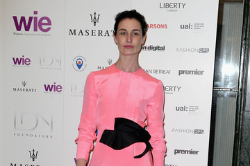 Erin O'Connor LDNY Fashion Show & WIE Award Gala - Red Carpet Arrivals