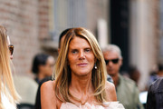 Anna Dello Russo attends the Ermanno Scervino show at Milan Fashion Week Spring Summer 2020 on September 21, 2019 in Milan, Italy.