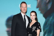 """Jim Parrack and Hayley Walters attend the """"Escape At Dannemora"""" New York Series Premiere at Alice Tully Hall, Lincoln Center on November 14, 2018 in New York City."""