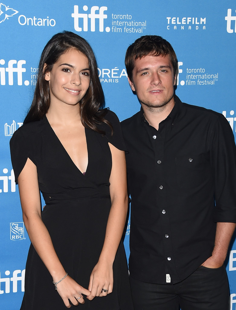 Claudia Traisac and Josh Hutcherson