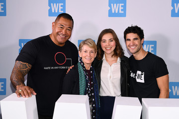 Esera Tuaolo WE Day UN 2018 - Arrivals