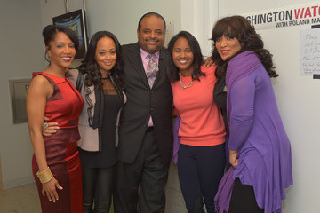 "Essence Atkins Taping Of TV One's ""Washington Watch With Roland Martin"" Hollywood Special"
