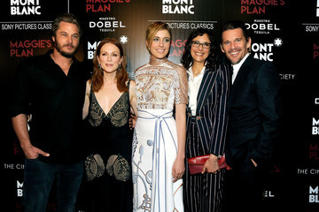 Ethan Hawke Montblanc and the Cinema Society Host a Screening of Sony Pictures Classics' 'Maggie's Plan' - Arrivals