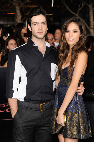 The Premiere of 'Breaking Dawn' [the twilight saga: breaking dawn - part 1,clothing,fashion,event,premiere,fashion model,long hair,dress,formal wear,suit,fashion design,arrivals,actors,kelsey chow,ethan peck,nokia theatre l.a. live,los angeles,summit entertainment,premiere,premiere]
